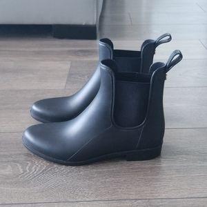 Sam Edelman Tinsley Rubber Ankle Boots sz 7